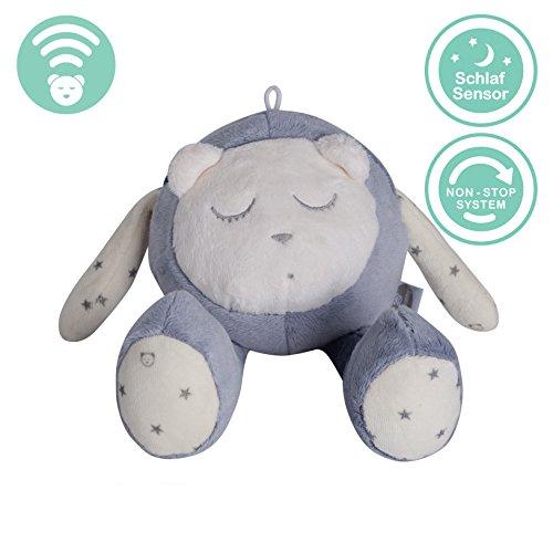 Preisvergleich Produktbild MyHummy schlafendes Maskottchen mit Schlafsensor (grau)