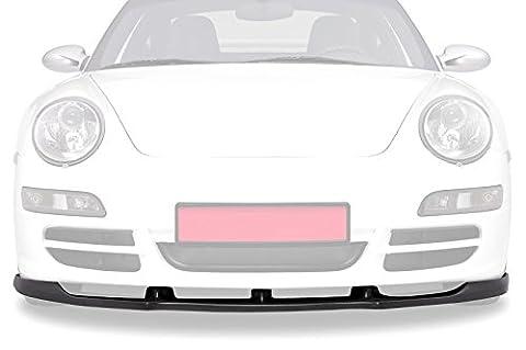 CSR-Automotive Cupspoilerlippe Spoilerschwert Schwarz glänzend Glossy CSL114-G