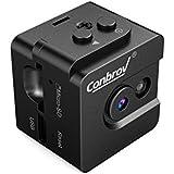 Mini Caméra Cachée Portable Conbrov 1280*720P Enregistreur Vidéo Jour/ Vision Nocturne Avec/Sans Fils, Mini Caméra Espion Invisible à Sécuriser Votre Maison et Des Biens Mobiliers T16 (Carte MicroSD NON Incluse)
