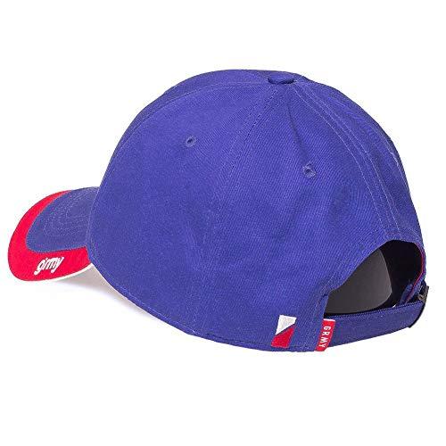 Imagen de grimey  flamboyant curved visor azul ajustable alternativa