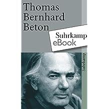 Suchergebnis auf amazon fr thomas bernhard kindle ebook bcher beton suhrkamp taschenbuch fandeluxe Images