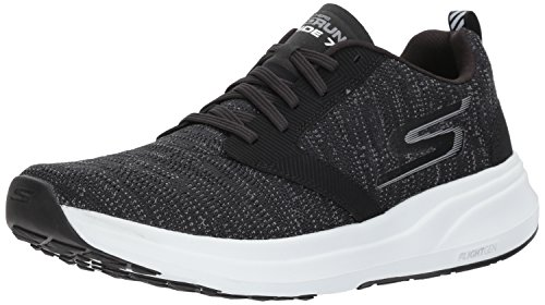 Skechers Go Run Ride 7, Chaussures de Fitness Homme Noir (Black/white)
