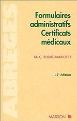 Formulaires administratifs - Certificats médicaux, 2ème édition