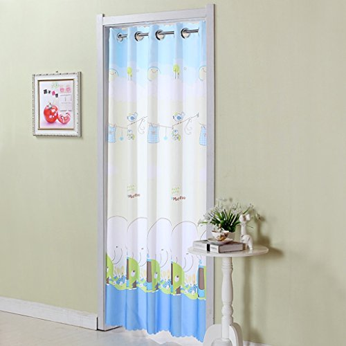 Liuyu · Lebendes Haus Tür Vorhang Tuch Lange Abgeschnitten Badezimmer Schlafzimmer Küche Wohnzimmer Vorhang ( größe : W70-90*L200cm )