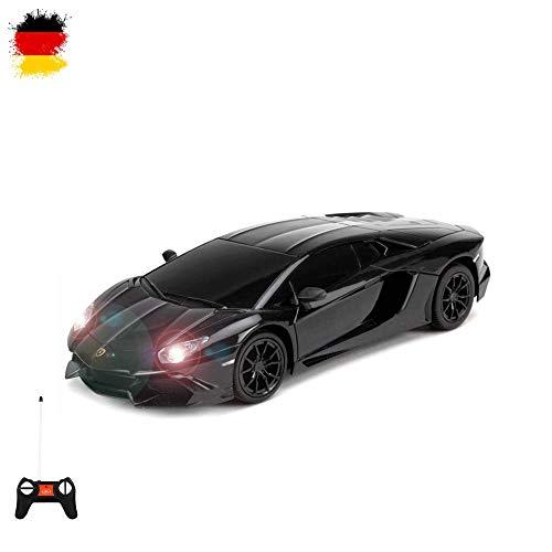 HSP Himoto Lamborghini Aventador LP720-4 - RC ferngesteuertes Modell-Fahrzeug im Original-Design lizenziert, Modell-Maßstab 1:24, Ready-to-Drive, Auto inkl. Fernsteuerung