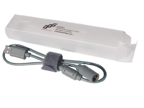 Global Game Gear GGG0004 Ersatz Dongle - für Xbox 360 kabelgebundene Controller