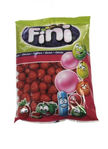 Preisvergleich Produktbild Saure Erdbeer Kaugummi Menge:1000g