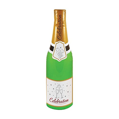 73 cm, aufblasbarer Champagner-Flasche