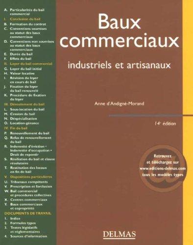 Baux commerciaux industriels et artisanaux : Editions 2006