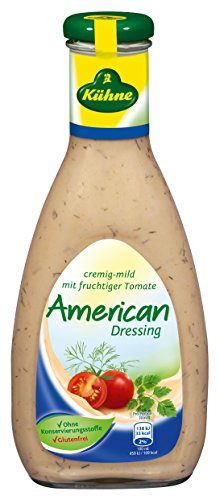 American French Dressing (Kühne Salat-Sauce American Dressing in der Flasche, 500 ml)