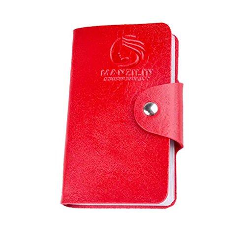 Mengonee 24 fente PU Nail art Stamper des plaques de timbrage Modèle de stockage boîtier rectangulaire Joint Porte-cartes Organisateur Paquet
