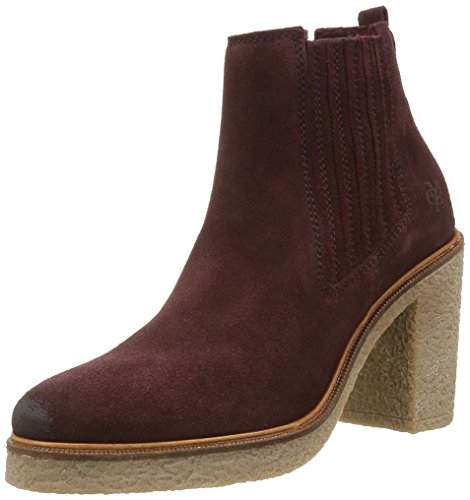 Marc O'Polo Damen 60813535201300 High Heel Chelsea Boots Rot (wine 385)