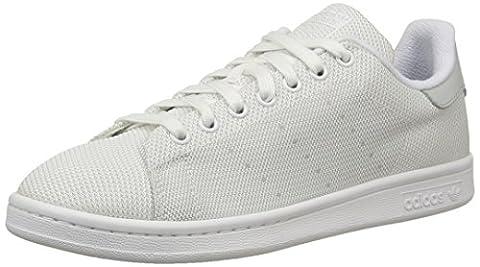 adidas Stan Smith, Chaussures de Randonnée Basses homme - Gris - Grey (Light Solid Grey/Ftwr White/Ftwr White), 46 EU
