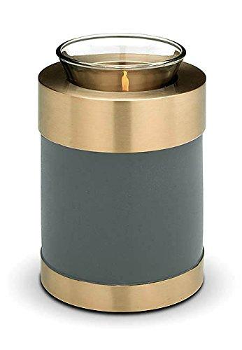 Verbrennung Asche Miniatur-Urne–Kerzenhalter Andenken (grün)