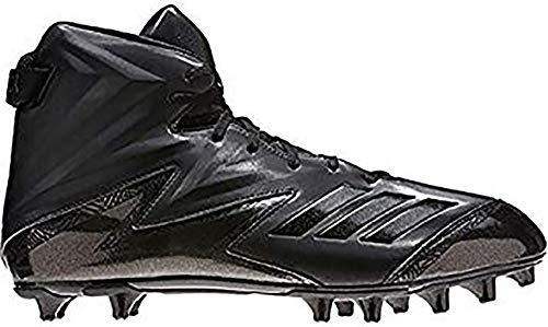 the best attitude d9843 b7bdc adidas Freak High Wide (2E) Cleat Mens Football 13 Black-Black-Black
