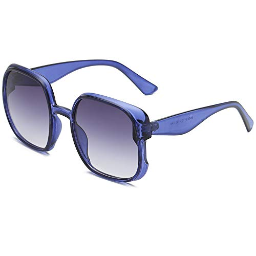 Yncc Herren Damen Brille Punk-Stil Überbrille Mode polarisierten Sonnenbrillen Outdoor-Reitbrille Sport-Sonnenbrille Big Frame Sonnenbrille Eyewear Retro Brille Metallbordüre Anti-UV (C)