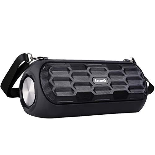 UMCCC Drahtloser Bluetooth-Lautsprecher Mini Outdoor Tragbarer Schultergurt High Power Subwoofer mit 4500 Mah Battery Support Externe 3,5 Mm Terminal Alle Audioeingänge
