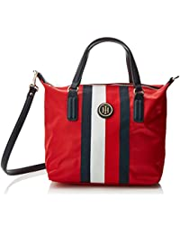 Tommy Jeans Poppy SM Tote Corp Strp