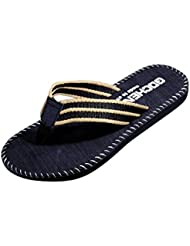 Tefamore Men Summer Flip Flops Sandals Male Slipper