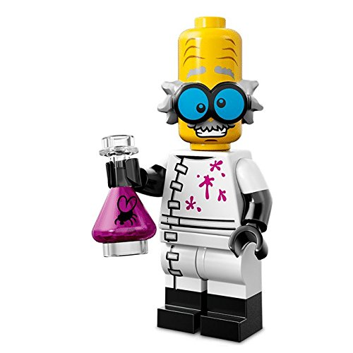 Lego Series 14 Minifigures 71010 Mad Scientist Verrückter Wissenschaftler Figur 3