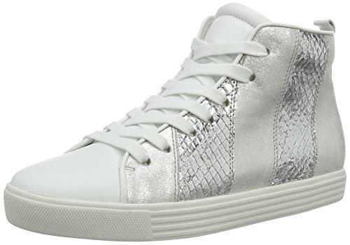 Kennel und Schmenger Schuhmanufaktur  Town, Sneakers Basses femme Mehrfarbig (bianco Komb. Sohle Weiss)