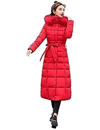 99native Femmes Hiver Manteau Chaud, dans la Longue Veste en Duvet Femm,  Doudoune épaisse 818a5dafe1a