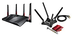 Gaming-Set RT-AC88U Router + passende AC-Karte PCE-AC88