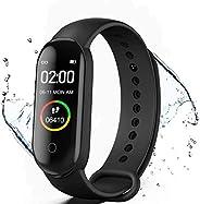 KLiHD Fitness Tracker, M4 Smart Watch, Activity Tracker Orologio con Cardiofrequenzimetro, IP67 Impermeabile P