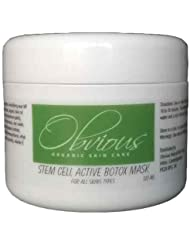 Obvious Naturals - Stem Cell Active Face Mask - With Dead Sea Mineral Mud, Hyaluronic Acid, Vitamin C and E and Stem Cell Technology. Stem Cells boost