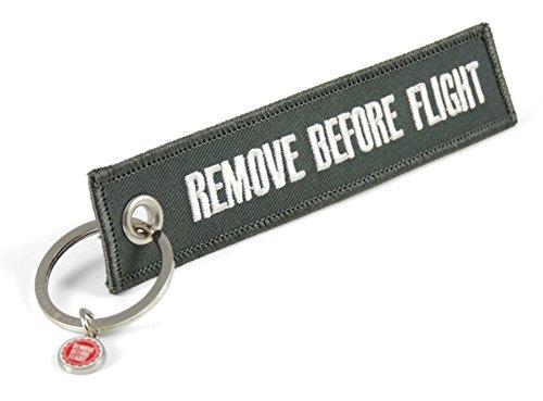Preisvergleich Produktbild Schlüsselanhänger - Remove Before Flight - Grau