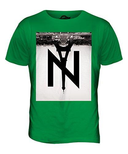 CandyMix New York Nach Paris Herren T Shirt Grün