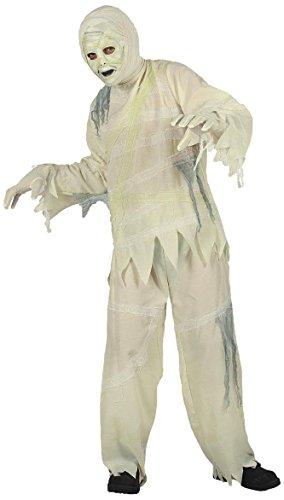Widmann 72966 - Kinderkostüm Mumie mit Maske und Handschuhe, Größe 128