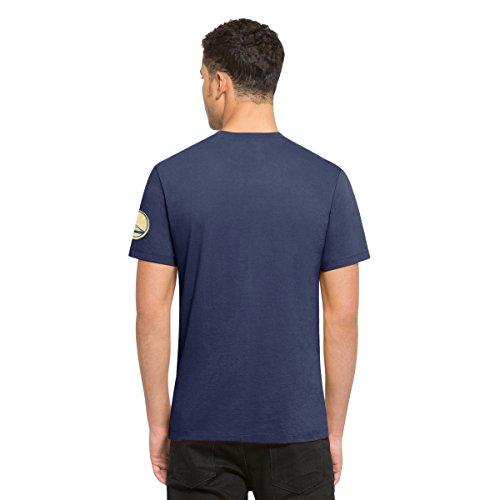'47 Brand NBA GOLDEN STATE WARRIORS Fieldhouse T-Shirt, Größe:L (47 Warriors Brand State Golden)