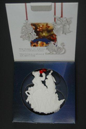 Hutschenreuther Baumschmuck White Christmas - Trommel -