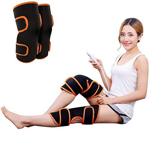 Massage-kissen-pad (QETY Elektro-Knie-Pads, Moxibustion Fever 9-Speed Adjustable Massage Kissen für Relieve Knie Spraches Cramps Arthritis Schmerzen)