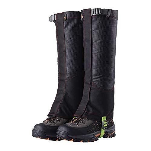 Schwarz Schnee Stiefel (Goodtimes28 Clearance Deals! 1 Paar Outdoor Wasserdichte Wandern Klettern Sport Winter Schnee Abdeckung Stiefel Gamaschen Schwarz)
