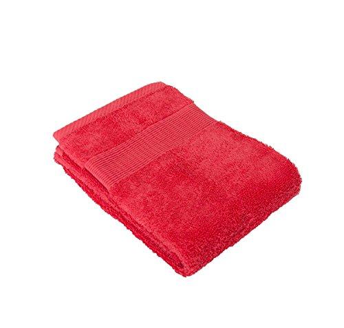 Telo ospite 100% cotone - Inflame Towel 30x54 Rosso