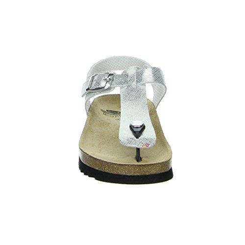 Scholl Boa Vista Ad B/S Silver Printed Suede silver