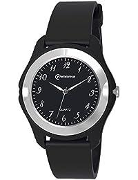 ufengke® kinder klassische zufällige leben analoge quarzarmbanduhr armbanduhren, schwarz