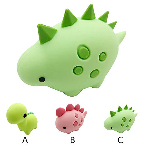 LCLrute Line Bite for iPhone Cable Cord Dinosaur Accessory Protects Cute Protector Line Protector