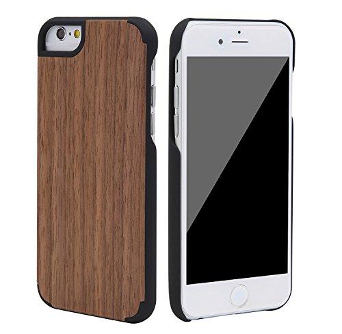 """SunSmart Klassische hölzerne Abdeckung iPhone 6 Natural Wood Schutzhülle für iPhone 6 4.7"""" --23 05"""