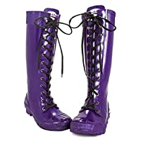 Rockfish Tall & Lacey Wellingtons Size 3