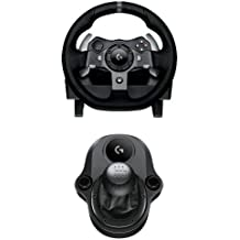 Logitech G920 Driving Force Volante da Corsa per Xbox One/PC con Logitech Driving Force Manopola del Cambio