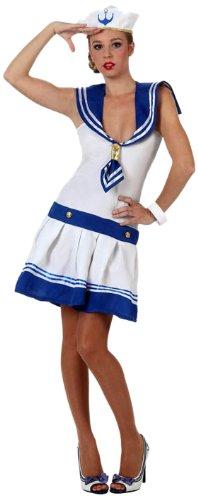 Imagen de atosa  disfraz de marinera para mujer, talla 38  40 6002