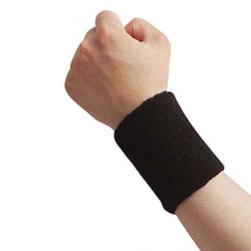 MORESAVE Wristband Sport Sudore Yoga supporto per il polso fitness