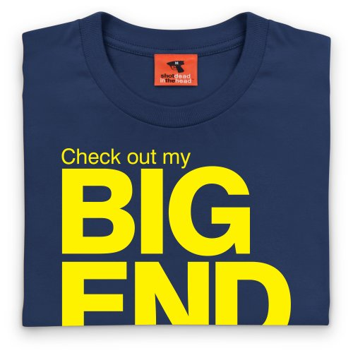 Japfest Big End T-Shirt, Herren Dunkelblau