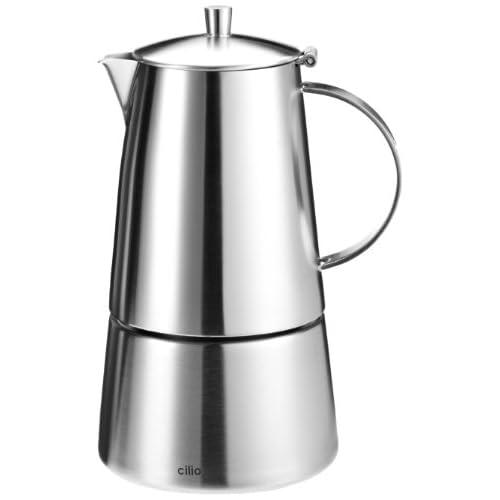 41FJWXuLctL. SS500  - Cilio Modena 202304 Espresso Maker 6 Cups