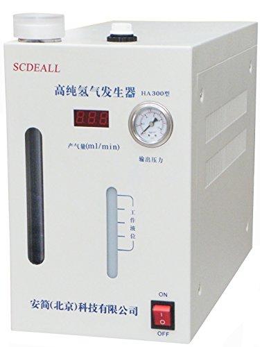 CGOLDENWALL Lab Vollautomatischer Hochreiner Wasserstoffgasgenerator H2-Maschine 99,999% Wasserstoffreinheit H2: 0-300ml -
