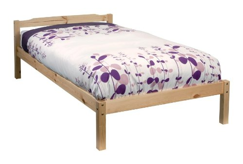 Noa and Nani Single Bed Pine 3ft Single Bed Sussex Wooden Frame Sussex