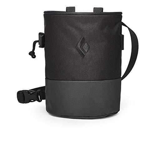Black Diamond Mojo Zip Chalkbag Größe S-M Black/Slate